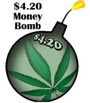 420 money bomb Light Up Your Activism and Drop a $4.20 Money Bomb to N.O.R.M.L.