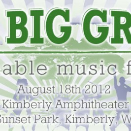 Visit the NORML Booth and Table at Big Green Fest in Kimberly August 18th