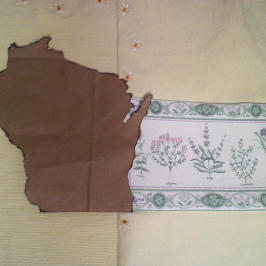 Making the Wisconsin State Square for the Cannabis Quilt Project