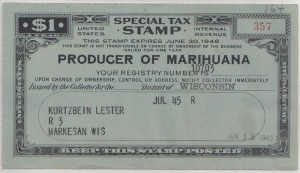 Tax and Cannabis