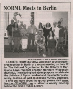 Selthofner brings area NORML leaders together