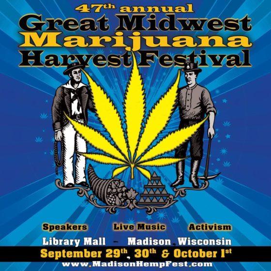 47th Annual Great Midwest Marijuana Harvest Fest 2017