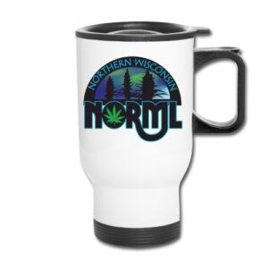 Northern WI NORML Travel Mug
