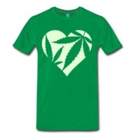 Glow in the Dark Heart T-shirt