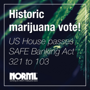 House Members Pass Historic Legislation Legitimizing Retail Cannabis Sales